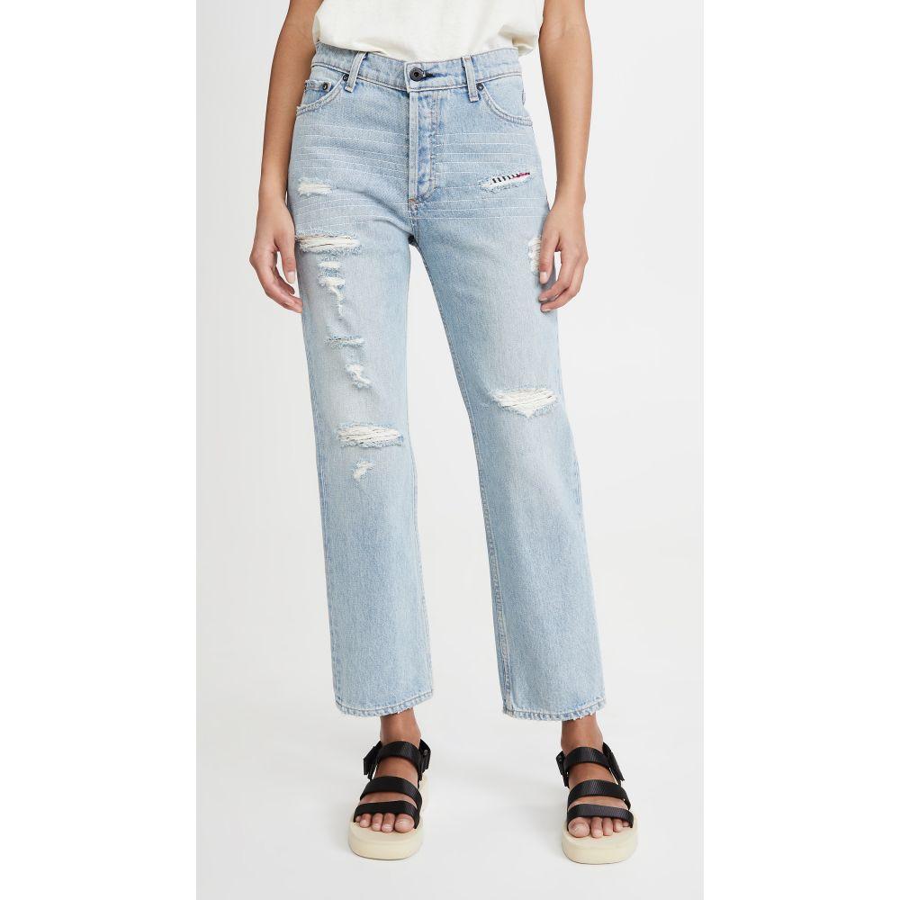 ASKK NY レディース ジーンズ・デニム ボトムス・パンツ【High Rise Straight Jeans】Lafayette