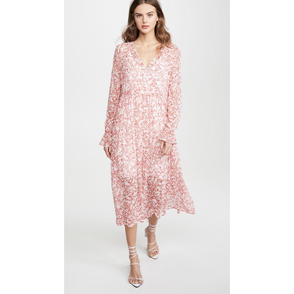 バウム ウンド ヘルガーデン BAUM UND PFERDGARTEN レディース ワンピース ワンピース・ドレス【Axelle Dress】Cream Ditsy Floral