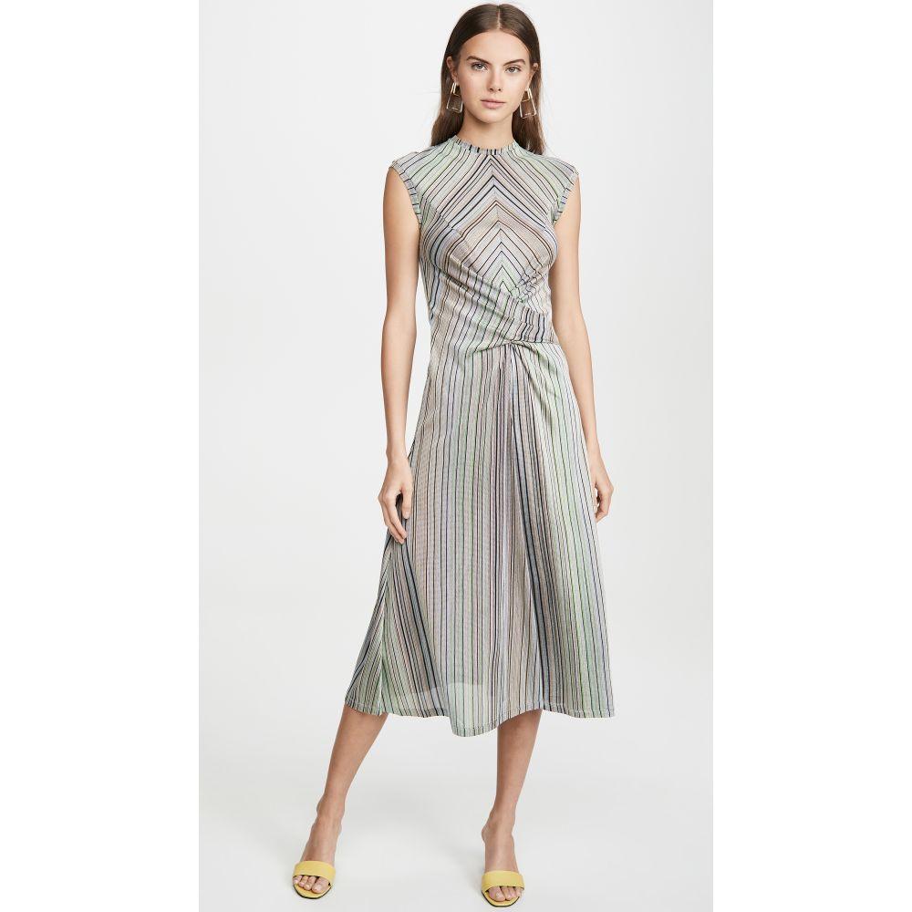 ブーフィレ Beaufille レディース ワンピース ワンピース・ドレス【Chagall Dress】Blue Stripe