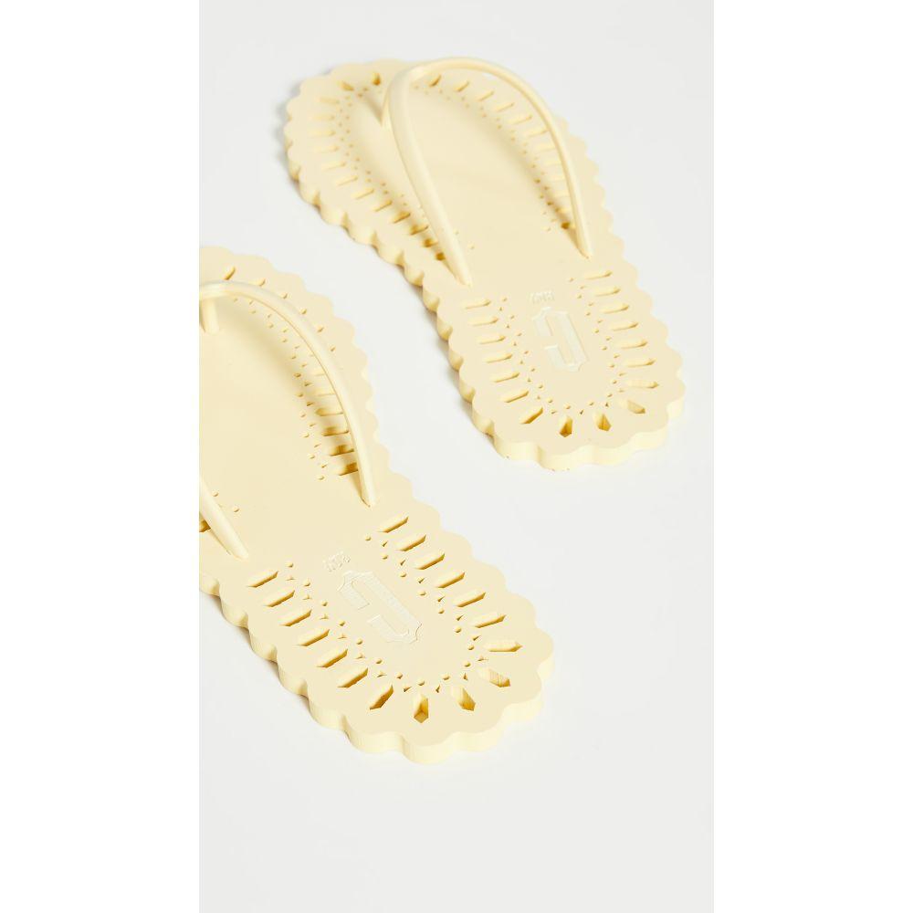 カルロサ レイ Carlotha Ray レディース ビーチサンダル シューズ・靴【Laser Cut Flip Flops】Souffle De Soleil