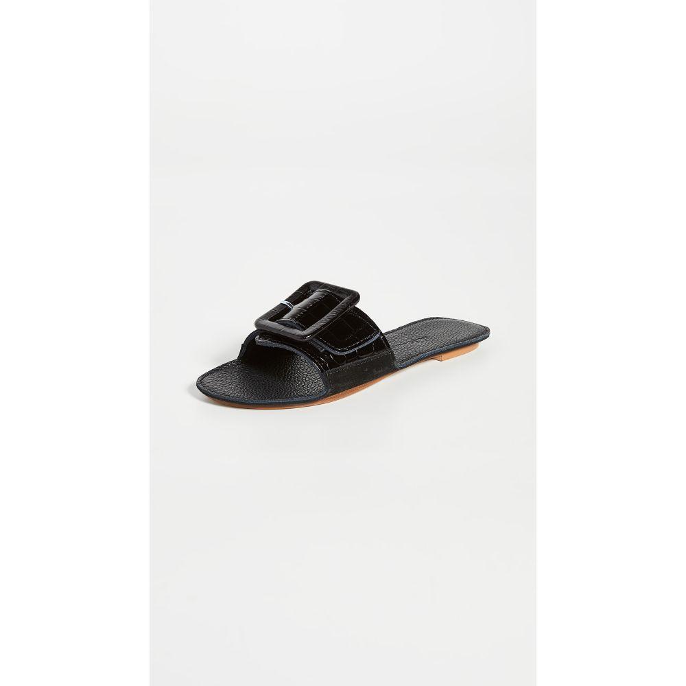 デファイナリー Definery レディース サンダル・ミュール シューズ・靴【Loop Slides】Obsidian