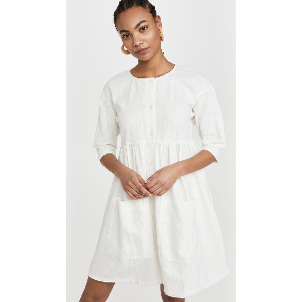 エルエフマーキー L.F. Markey レディース ワンピース ワンピース・ドレス【Samuel Dress】Off White