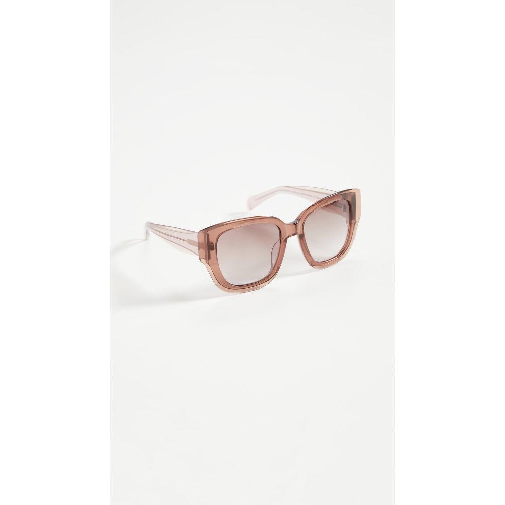 リンダ ファロー Linda Farrow Luxe レディース メガネ・サングラス 【Mathew Williamson x Linda Farrow Sunglasses】Mauve/Lilac/Brown Grad