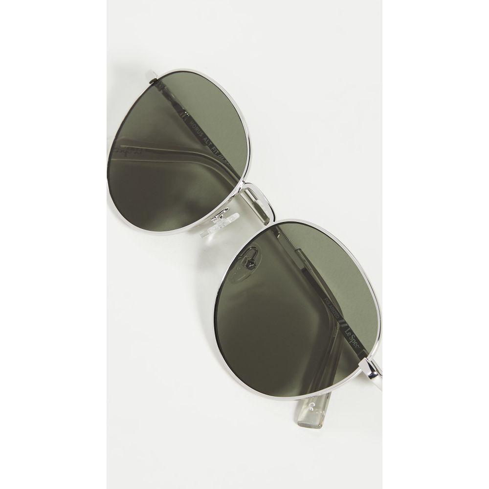 ル スペックス Le Specs レディース メガネ・サングラス 【Horus Alt Fit Sunglasses】Silver Khaki