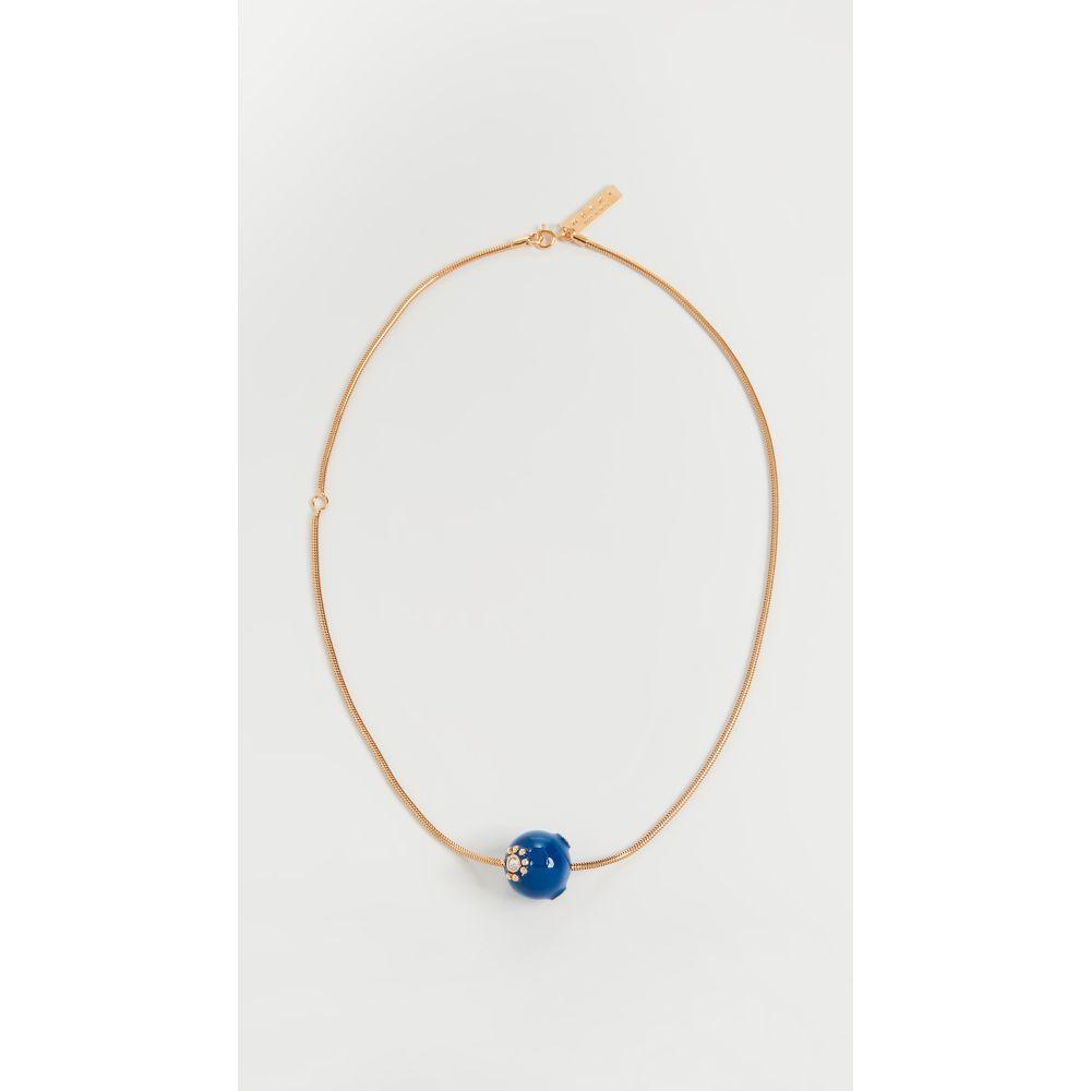 マルニ Marni レディース ネックレス ジュエリー・アクセサリー【Enameled Metal Necklace】Ocean