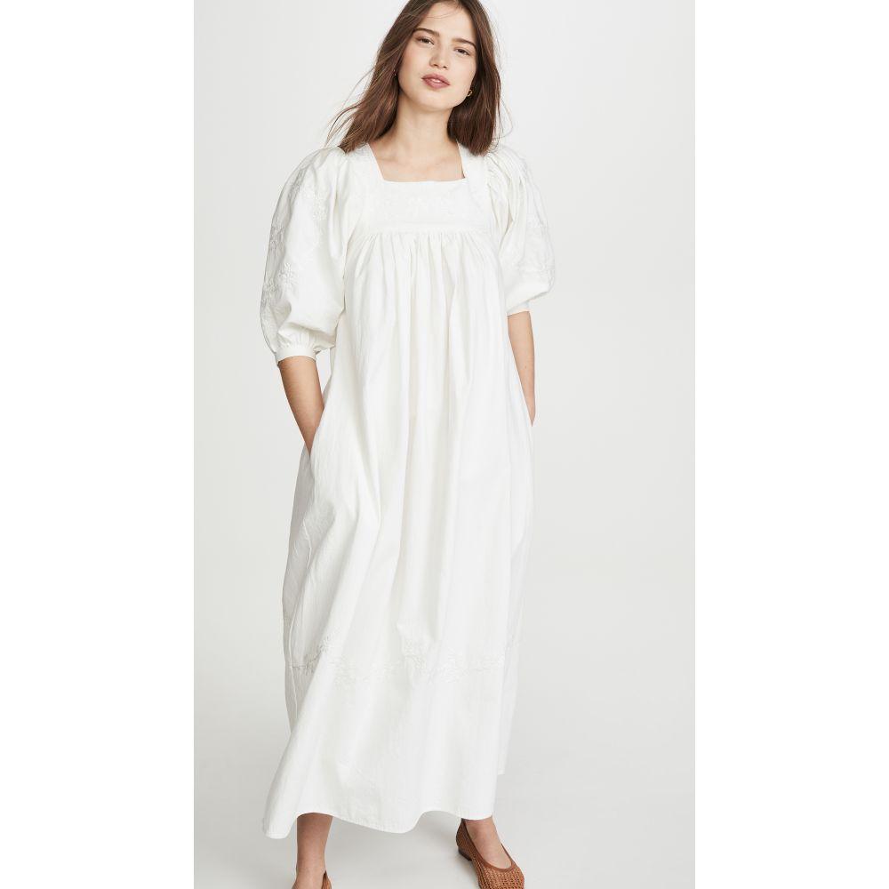 メドウズ Meadows レディース ワンピース ワンピース・ドレス【Crocus Dress】Off White