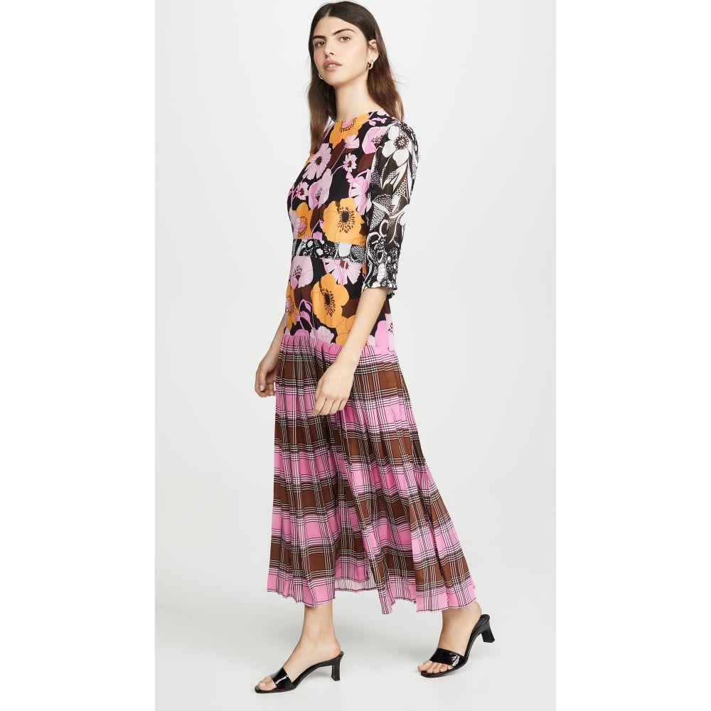 リキソ RIXO レディース ワンピース ワンピース・ドレス【Cozi Dress】Abstract 's Check Floral