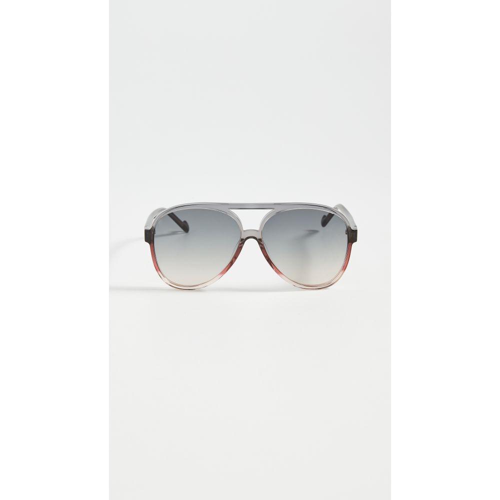 ジマーマン Zimmermann レディース メガネ・サングラス 【Shoreline Sunglasses】Navy