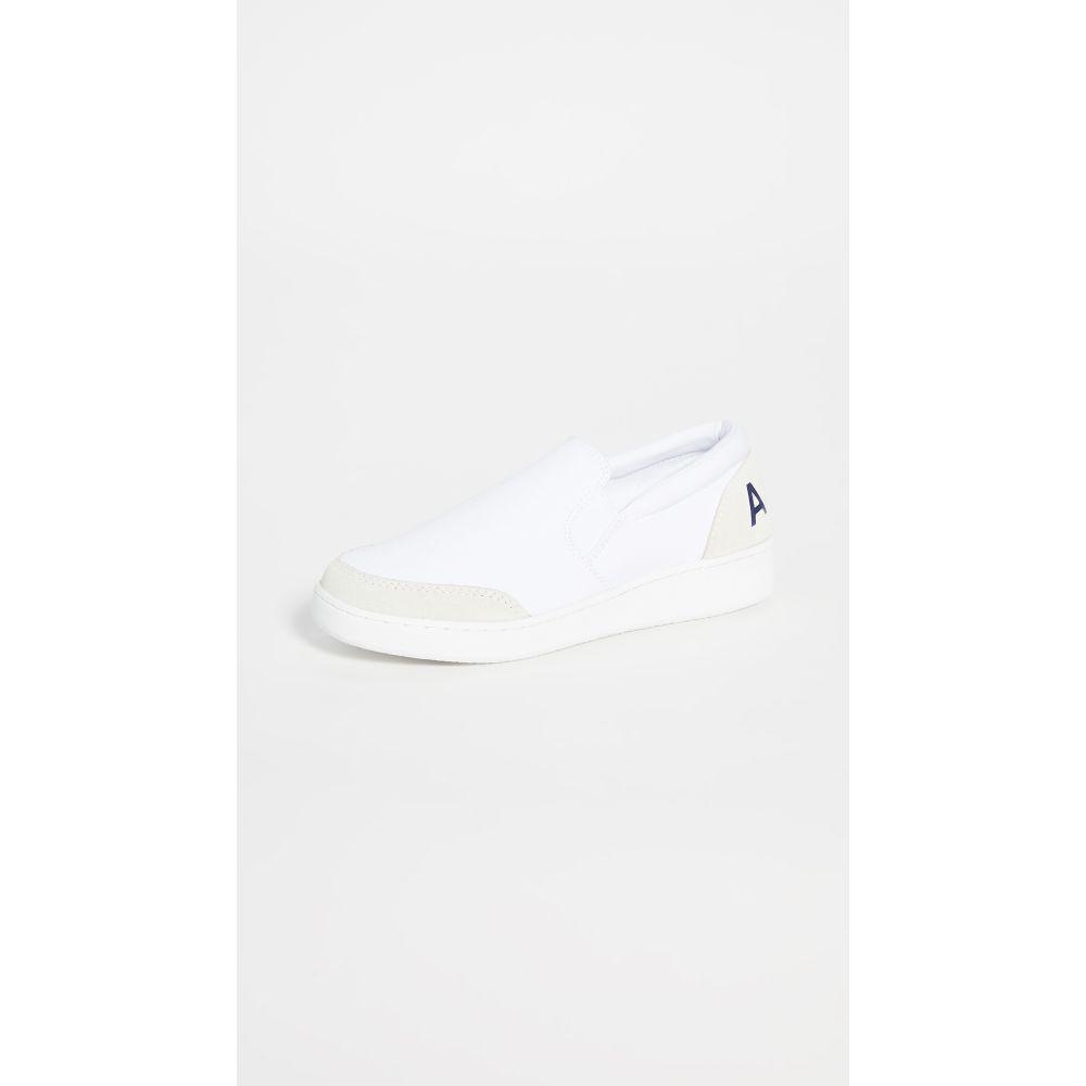 アーペーセー A.P.C. レディース スリッポン・フラット シューズ・靴【Coleen Slip On】Blanc