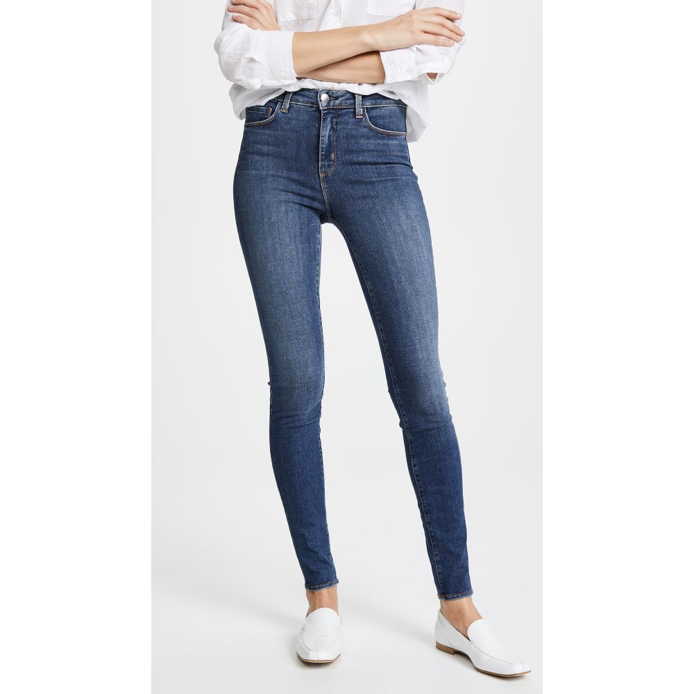 ラジャンス L'AGENCE レディース ジーンズ・デニム ボトムス・パンツ【Marguerite Jeans】Dark Vintage