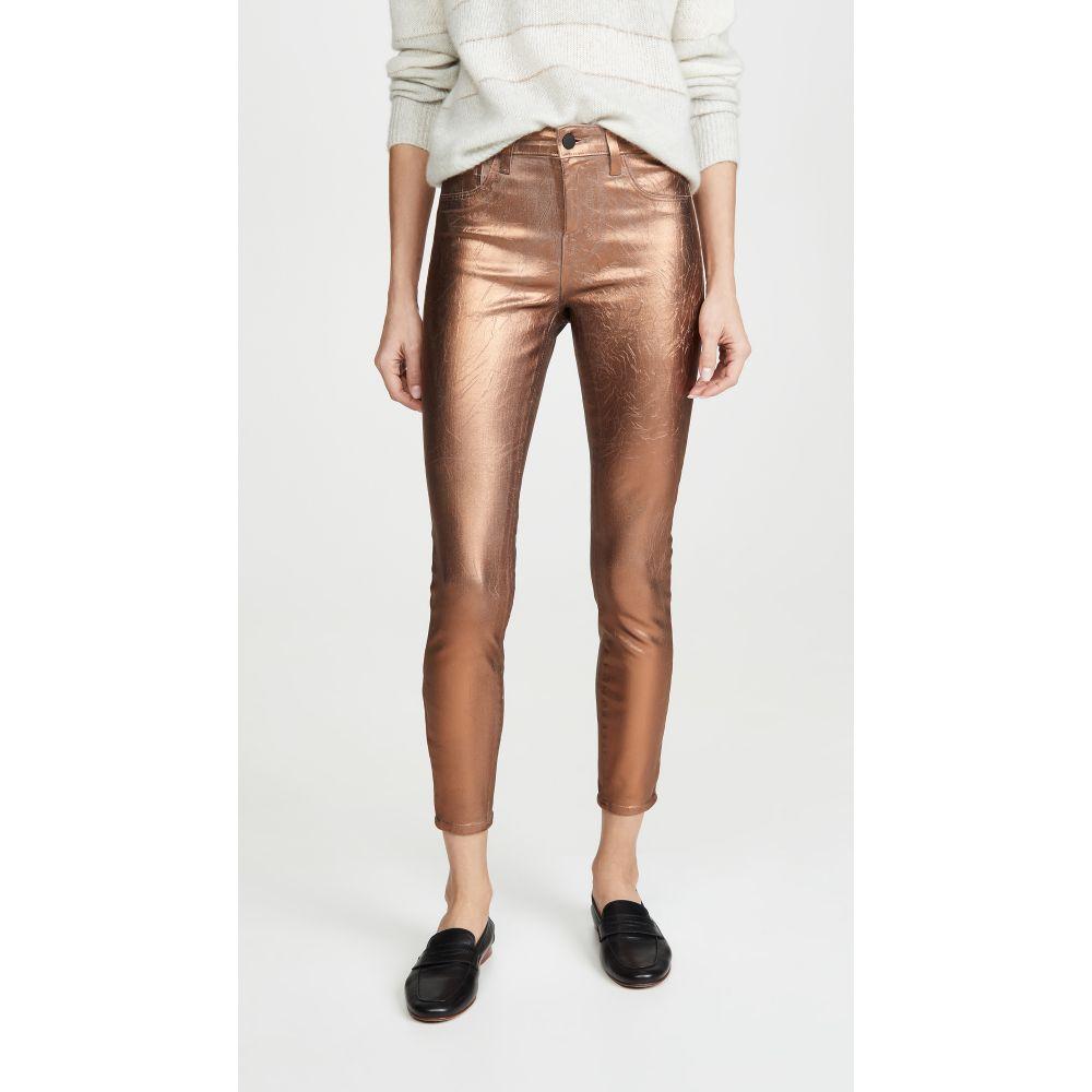 ラジャンス L'AGENCE レディース ジーンズ・デニム ボトムス・パンツ【Margot High Rise Skinny Jeans】Pine Bark/Matte Bronze Foil
