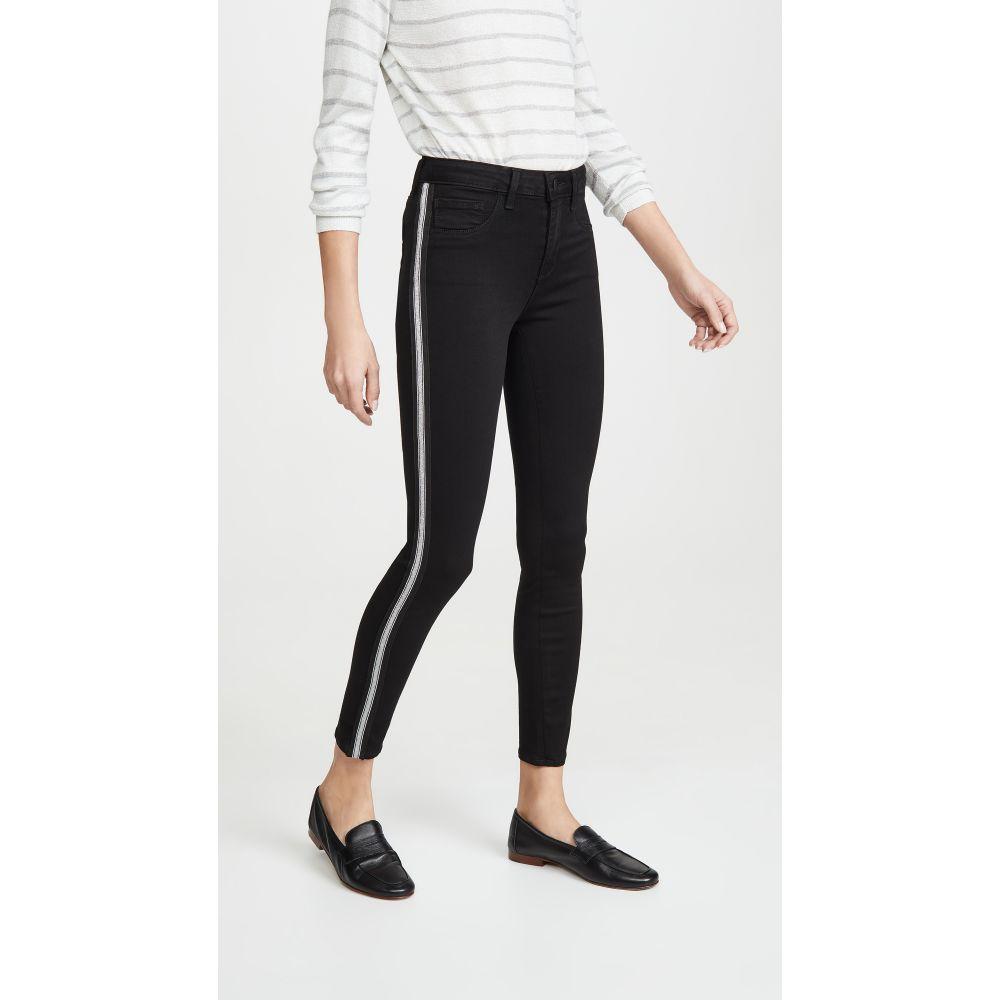 ラジャンス L'AGENCE レディース ジーンズ・デニム ボトムス・パンツ【Margot High Rise Skinny Jeans with Taping】Noir
