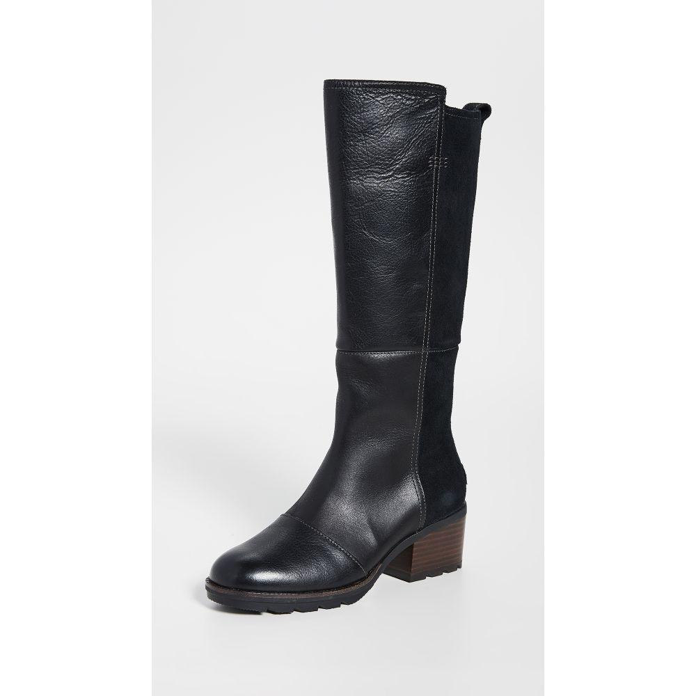 ソレル Sorel レディース ブーツ シューズ・靴【Cate Tall Boots】Black