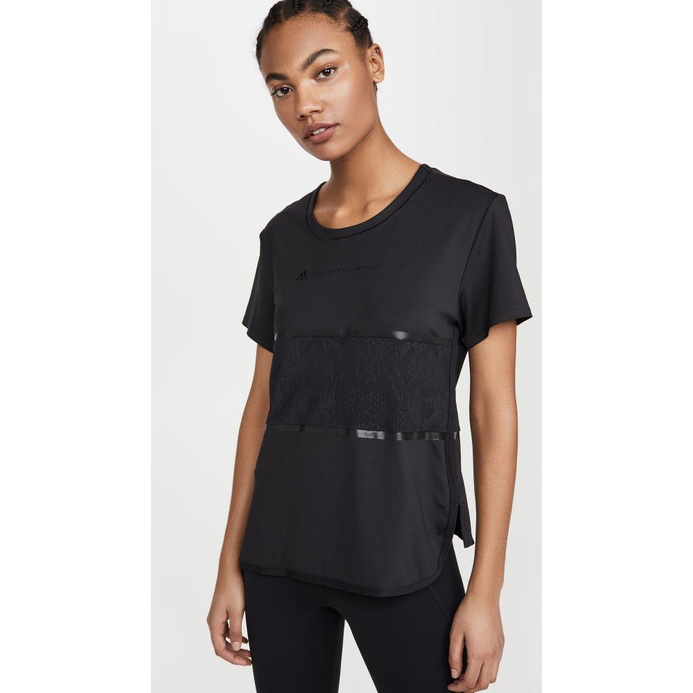 アディダス adidas by Stella McCartney レディース フィットネス・トレーニング Tシャツ トップス【Loose Performance Tee】Black