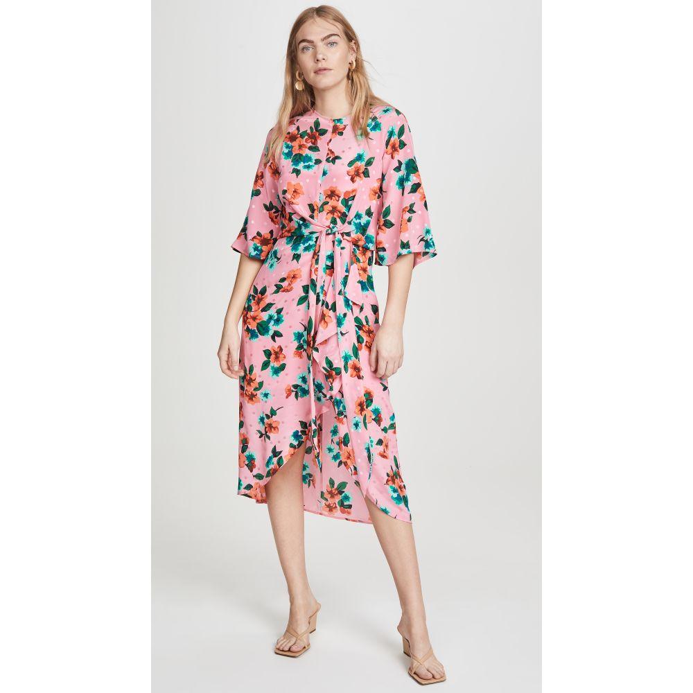 エッセンシャル Essentiel Antwerp レディース ワンピース ワンピース・ドレス【Vayen Draped Detail Dress】Firenze Fraise