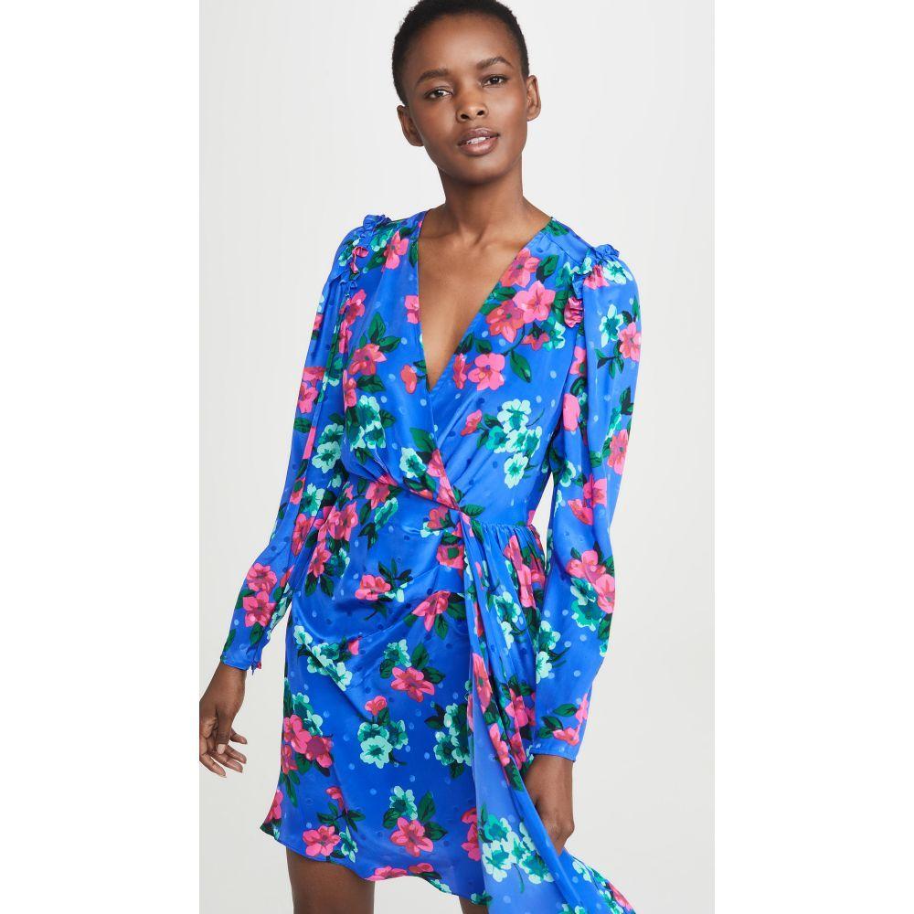 エッセンシャル Essentiel Antwerp レディース ワンピース ワンピース・ドレス【Viesbeth Puff Sleeve Minidress】Palace Blue