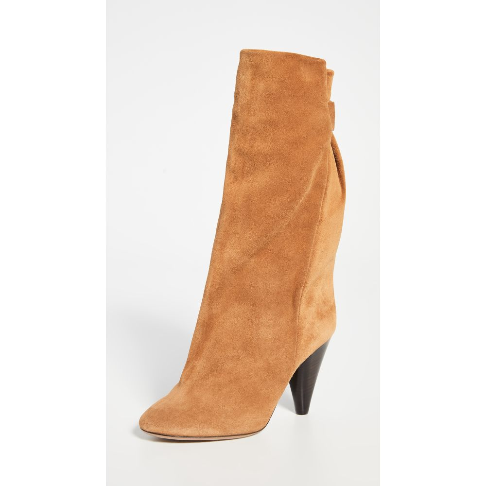 イザベル マラン Isabel Marant レディース ブーツ シューズ・靴【Lakfee Wrinkled Boots】Cognac