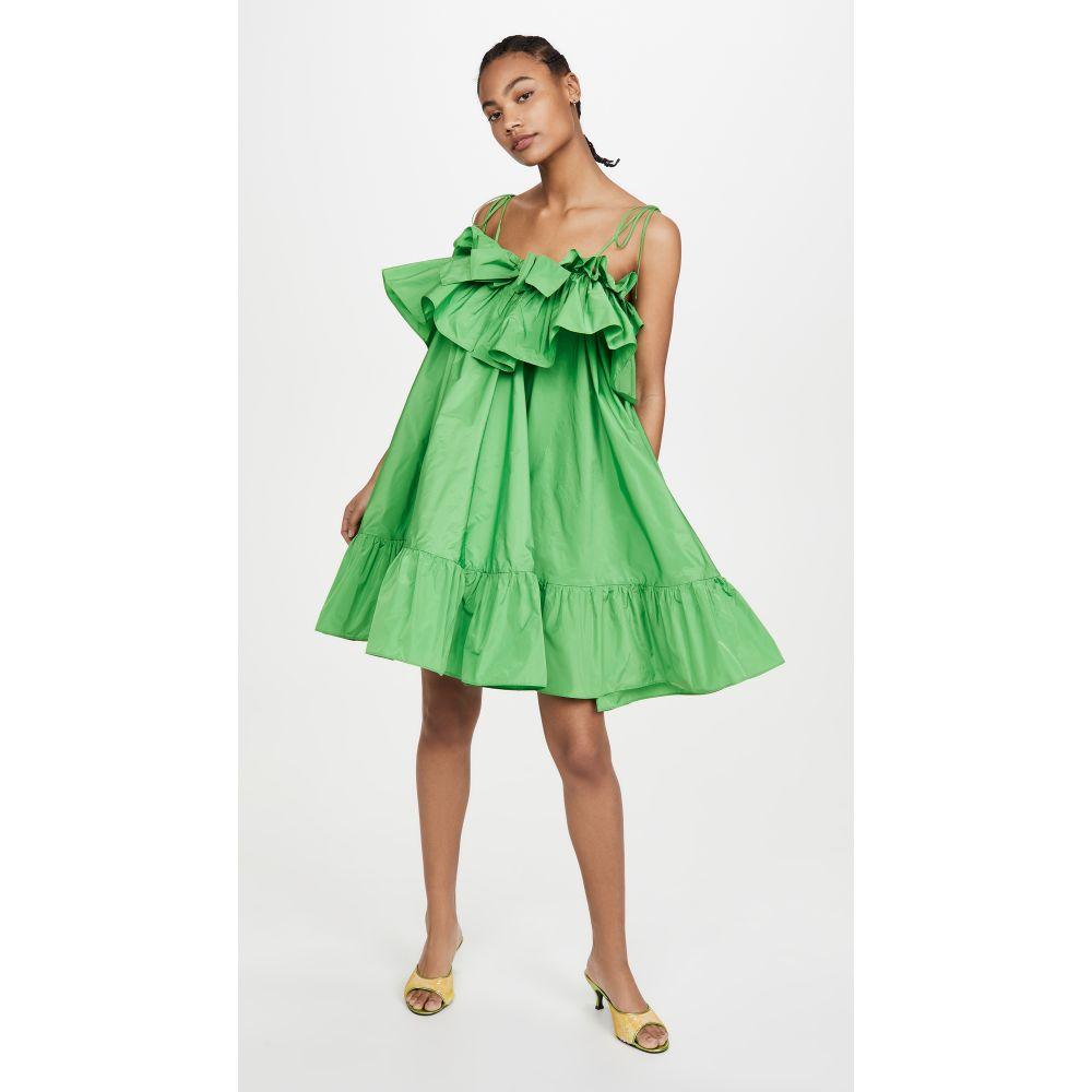 エムエスジーエム MSGM レディース ワンピース シフトドレス ワンピース・ドレス【Shift Dress】Apple Green