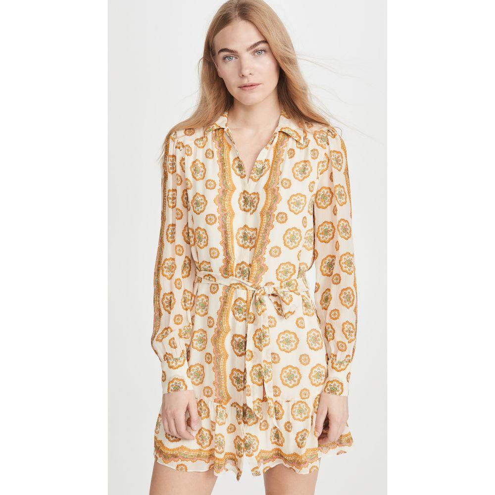 ペイジ PAIGE レディース ワンピース ワンピース・ドレス【Portofina Dress】Birch/Turmeric