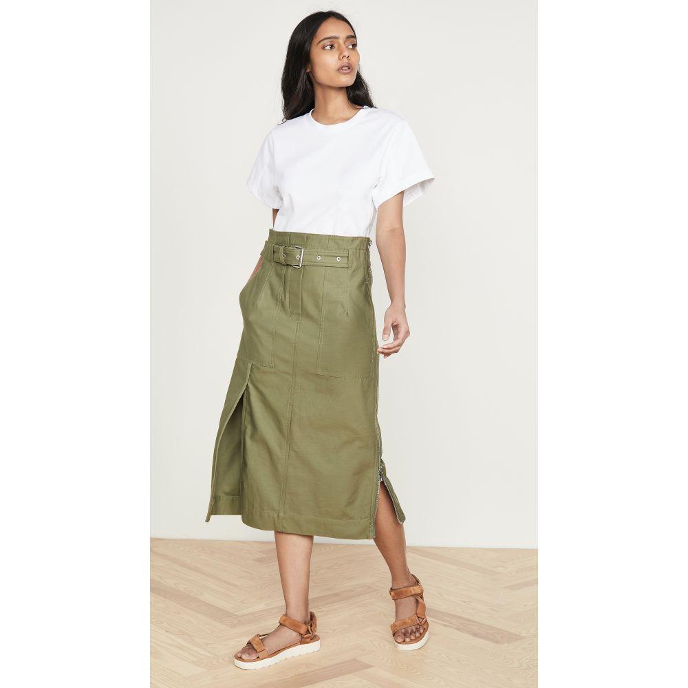 スリーワン フィリップ リム 3.1 Phillip Lim レディース ワンピース ワンピース・ドレス【Belted Cargo Dress】White/Olive