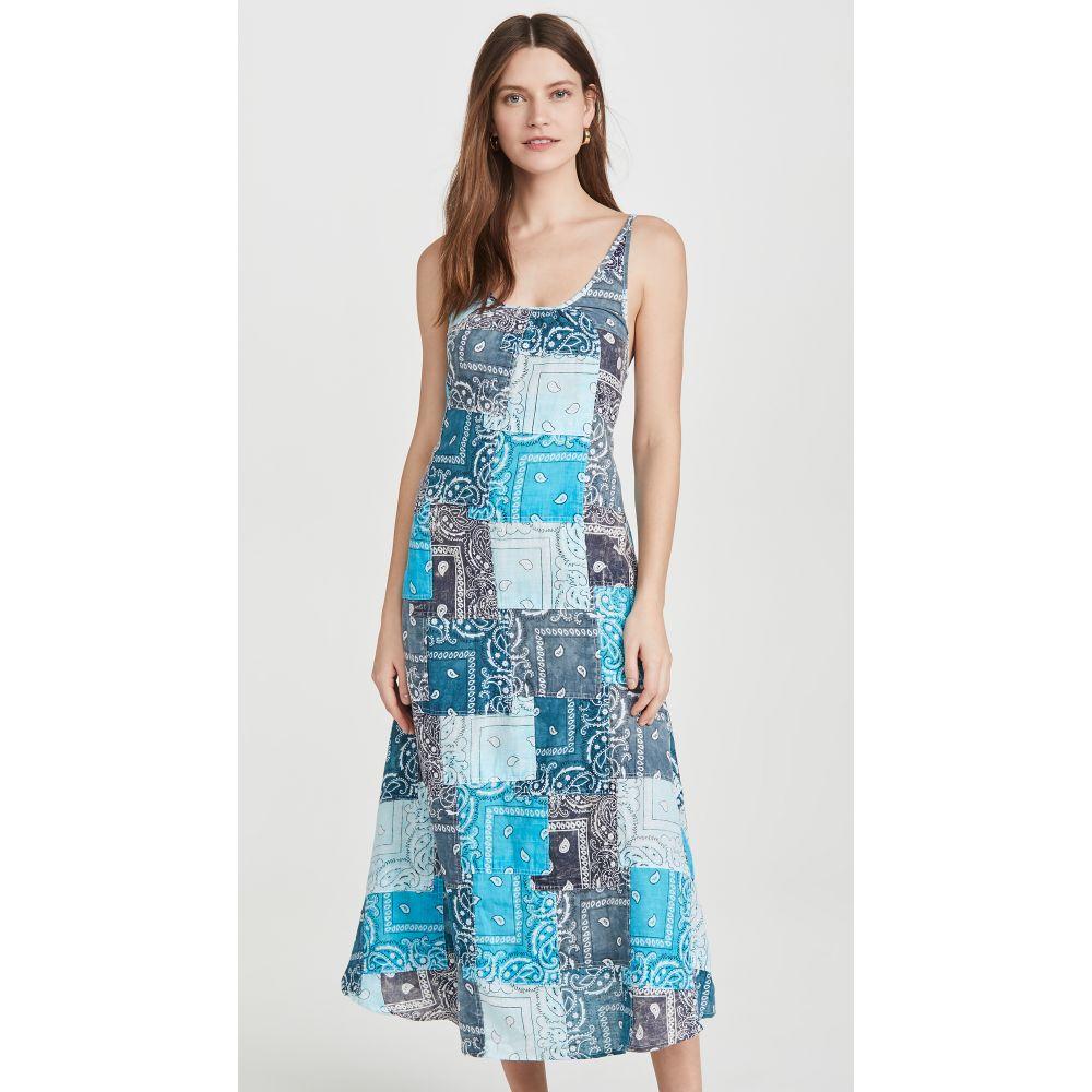 ライレー Riley レディース ワンピース ワンピース・ドレス【Partchwork Long Dress】Multi