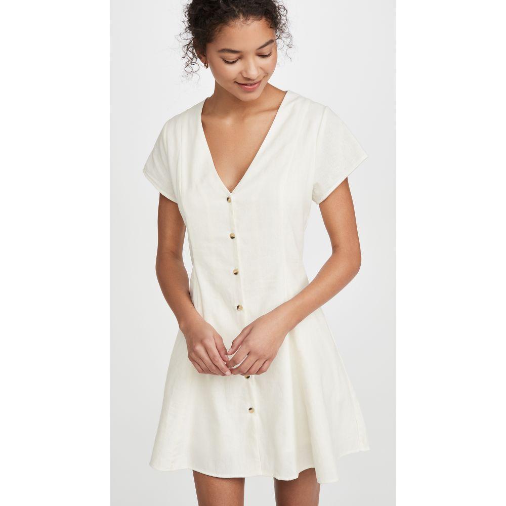 ローラズ Rolla's レディース ワンピース ワンピース・ドレス【Milla Linen Dress】Vintage White