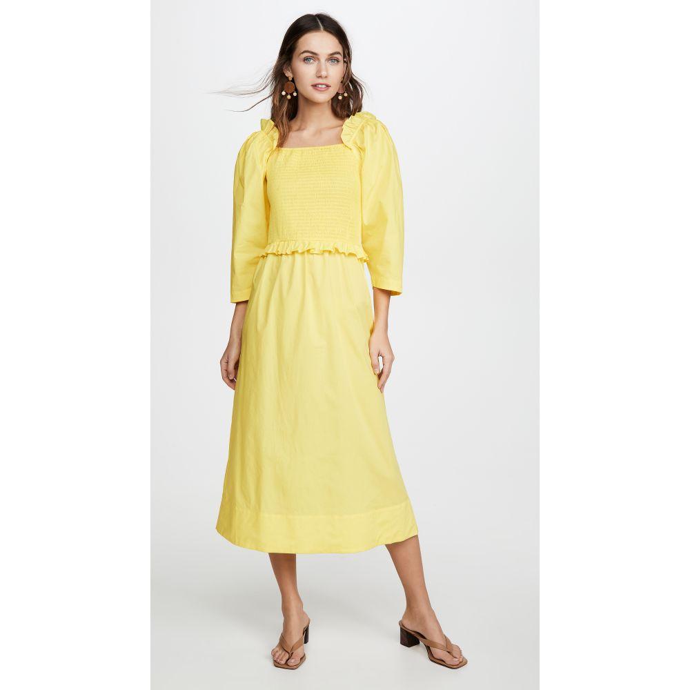 シー Sea レディース ワンピース ワンピース・ドレス【Tabitha Dress】Citron