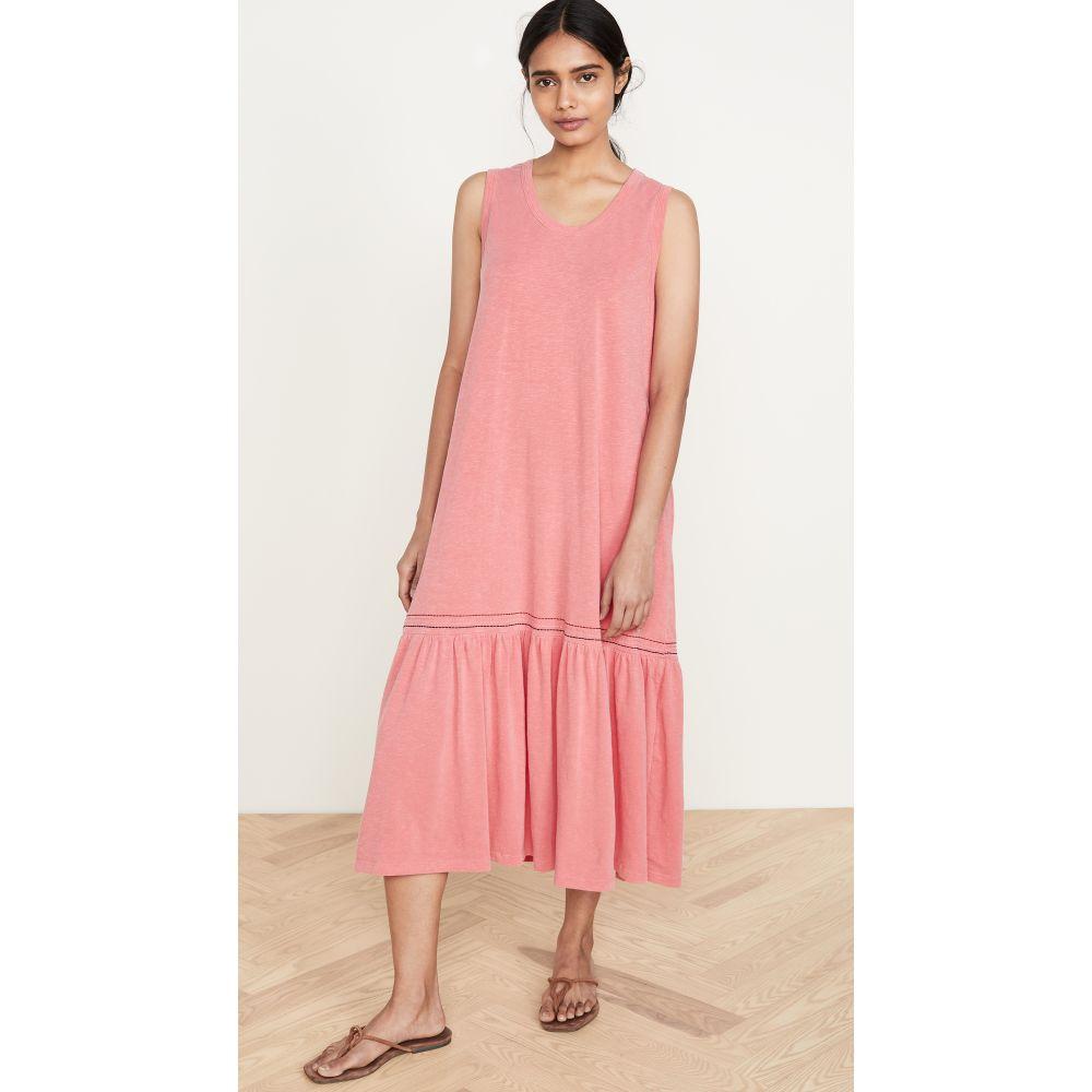 サンドリー SUNDRY レディース ワンピース ワンピース・ドレス【Embroidered Dress】Pigment Hibiscus
