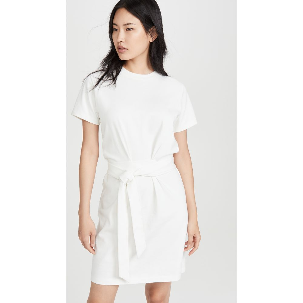 ヴィンス Vince レディース ワンピース ワンピース・ドレス【Waist Tie Dress】Off White