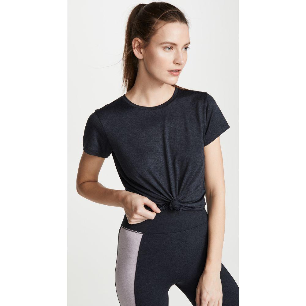 ウィー オーバー ミー We Over Me レディース フィットネス・トレーニング Tシャツ トップス【Foundation Crew Tee】Heather Black