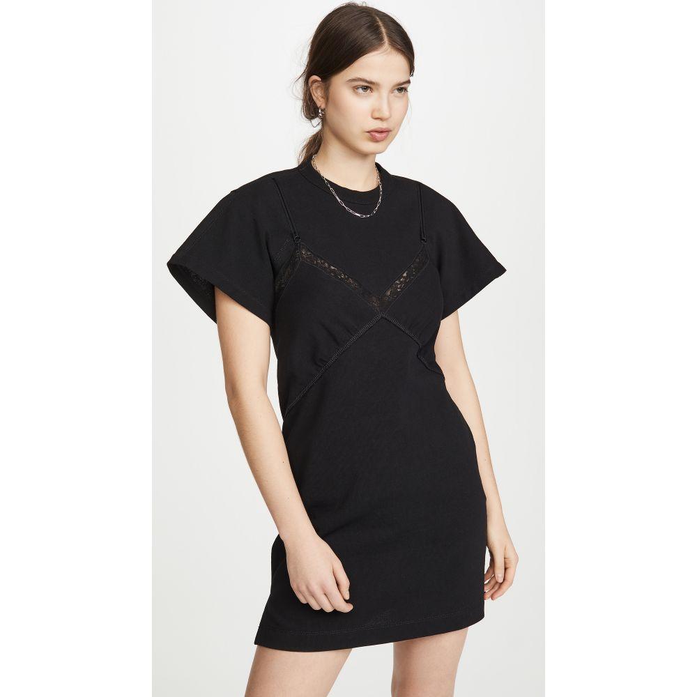 アレキサンダー ワン Alexander Wang レディース ワンピース ワンピース・ドレス【Jersey Lingerie Dress】Black