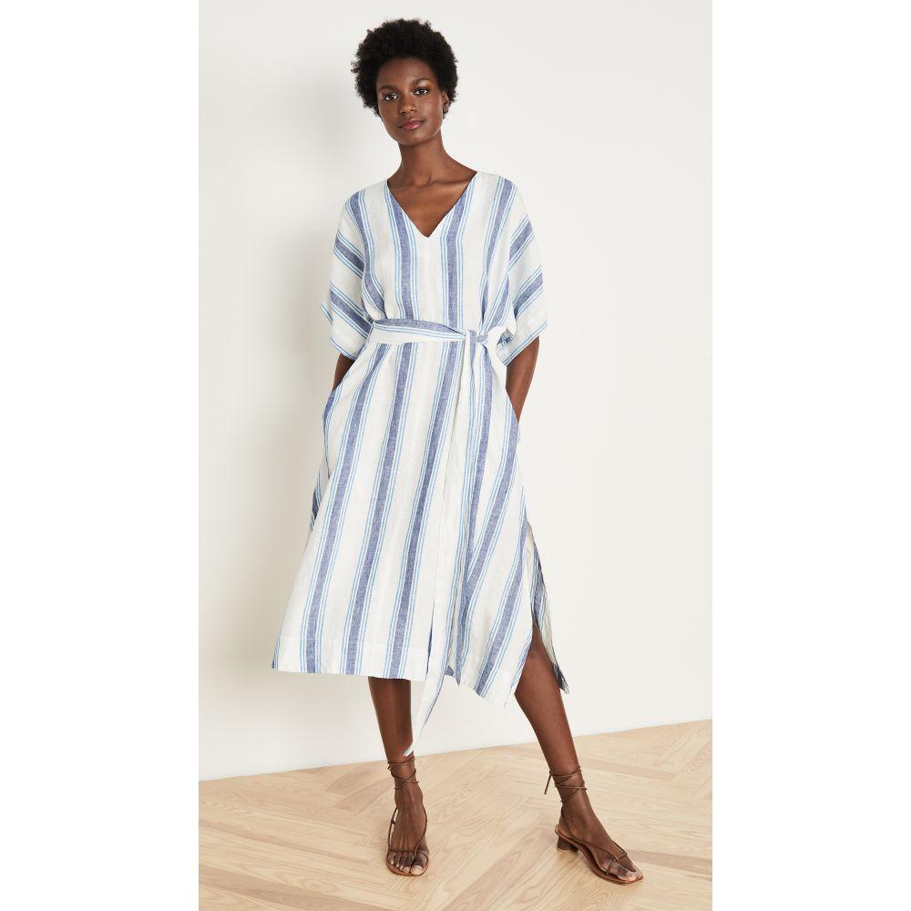 バーズ オブ パラディス Birds of Paradis レディース ワンピース ワンピース・ドレス【Hannah Dress】Blue Wide Stripe