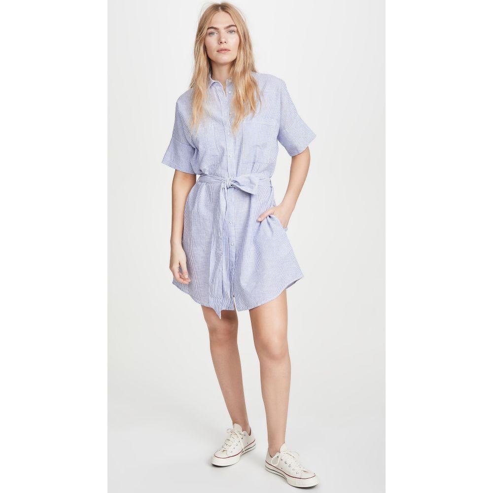 ディーエル1961 DL1961 レディース ワンピース シャツワンピース ワンピース・ドレス【Cranberry Shirtdress】Blue Stripe