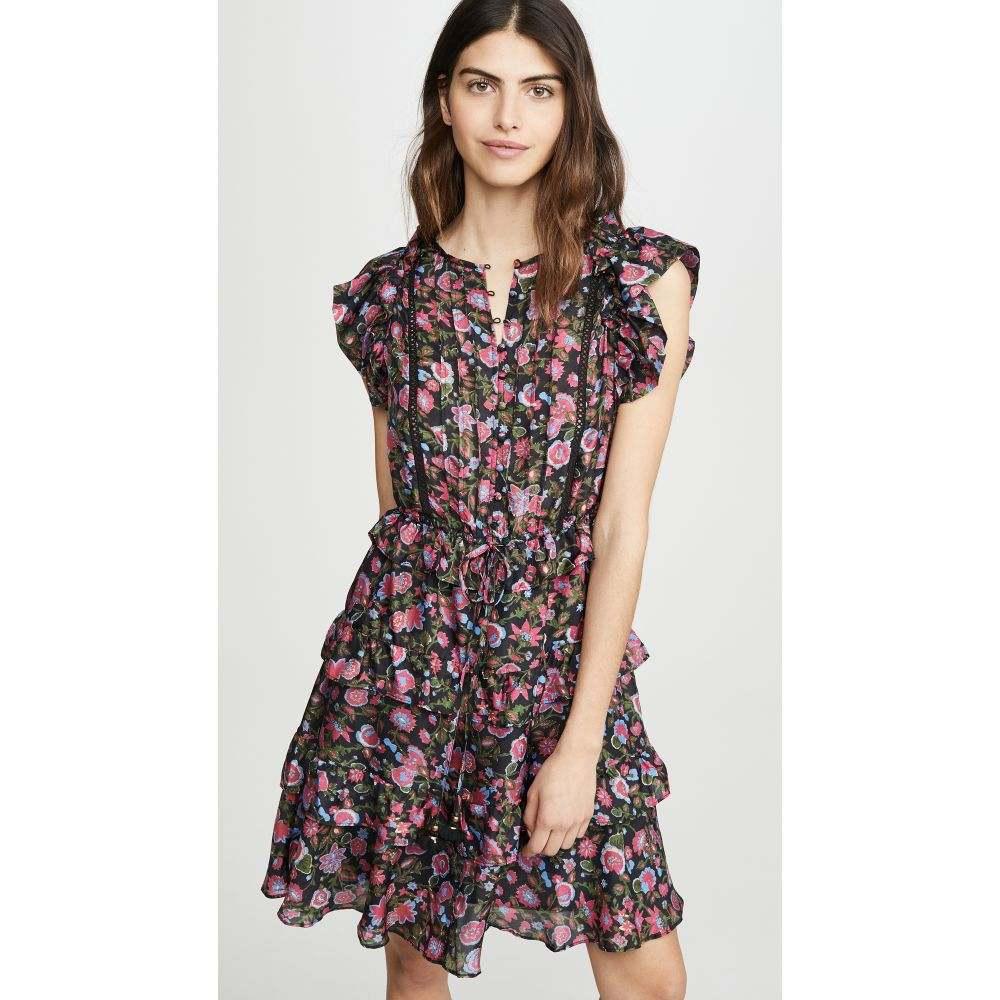 フィグ Figue レディース ワンピース ワンピース・ドレス【Simona Dress】Goa Flower Black