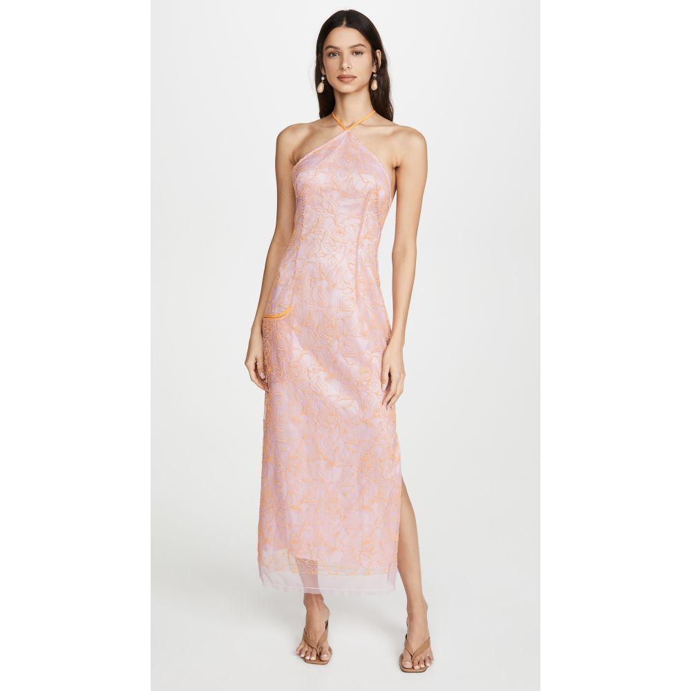 ジャックムス Jacquemus レディース ワンピース ワンピース・ドレス【The Lavender Dress】Pink/Orange
