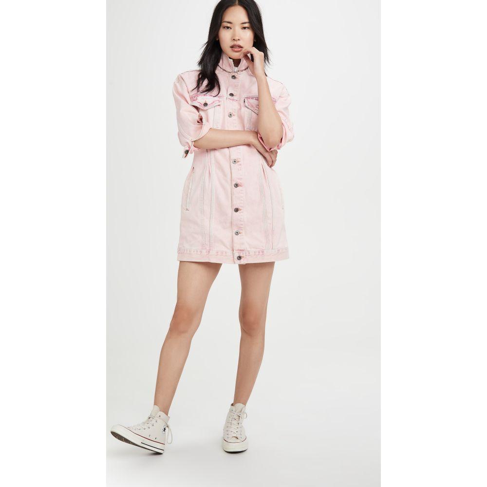 リーバイス Levi's レディース ワンピース ワンピース・ドレス【Cinch Trucker Dress】Marble Pink