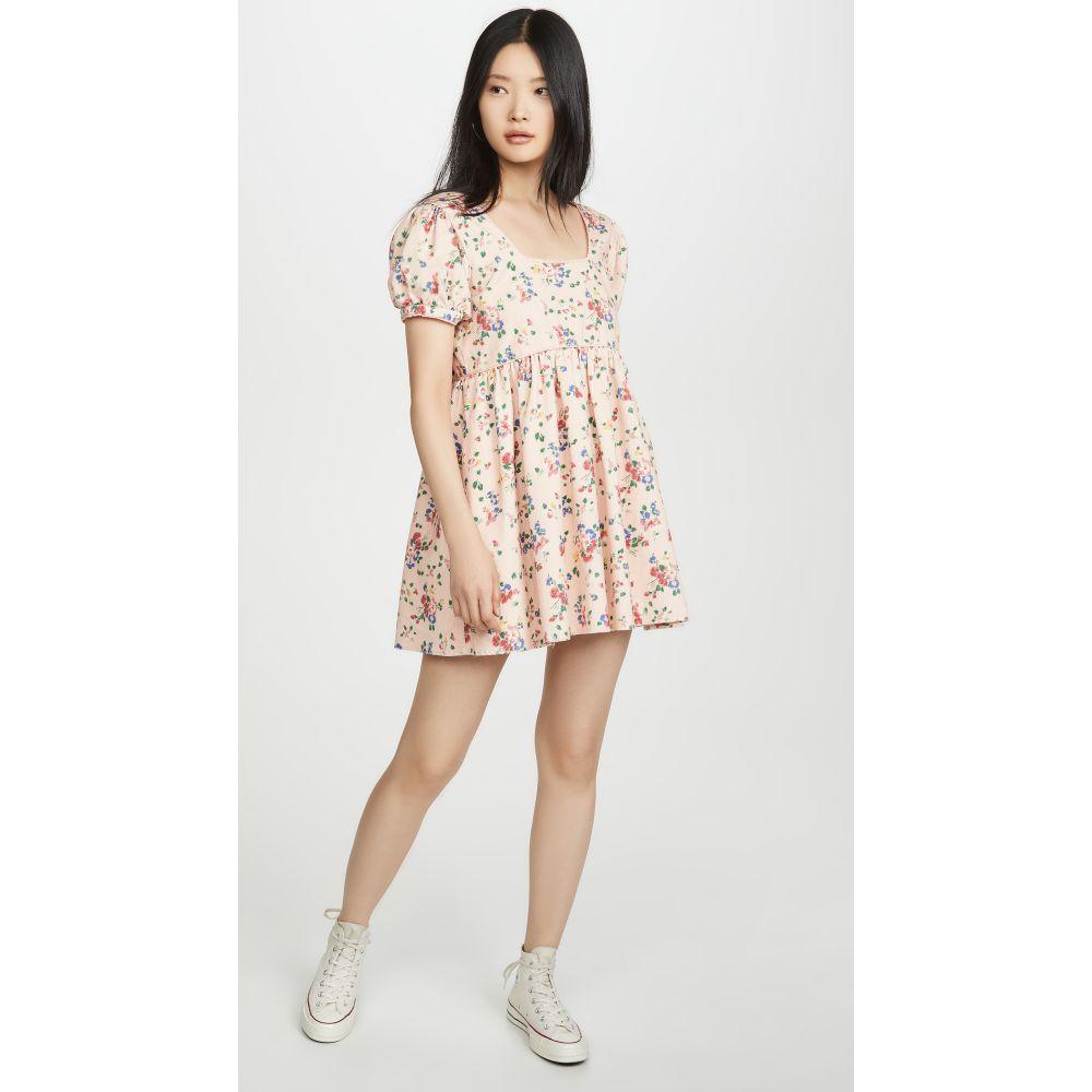 ラブシャックファンシー LOVESHACKFANCY レディース ワンピース ワンピース・ドレス【Raleigh Dress】Sunset Pink