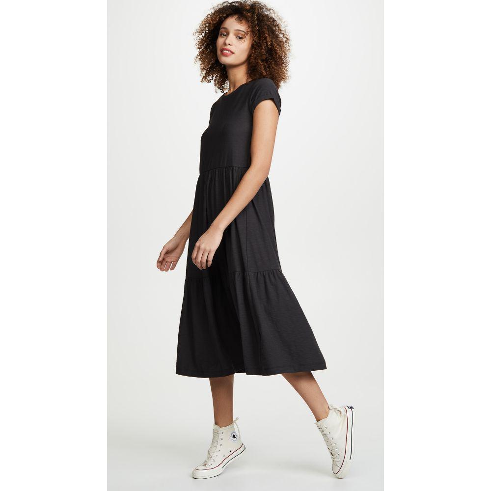 ネーション Nation LTD レディース ワンピース ワンピース・ドレス【Roman Dress】Washed Black