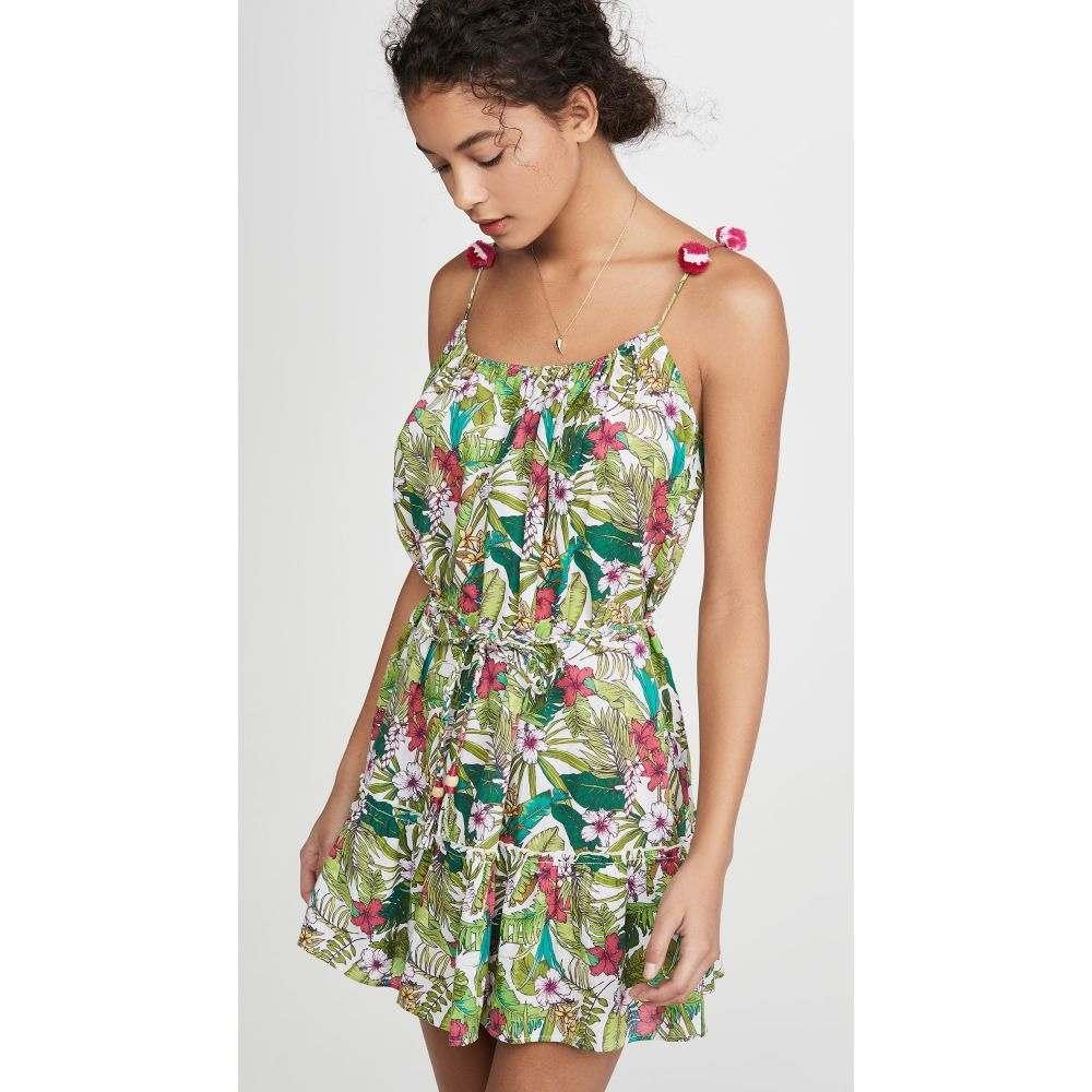 プラヤ ルシラ Playa Lucila レディース ワンピース ワンピース・ドレス【Floral Short Dress】Green Multi