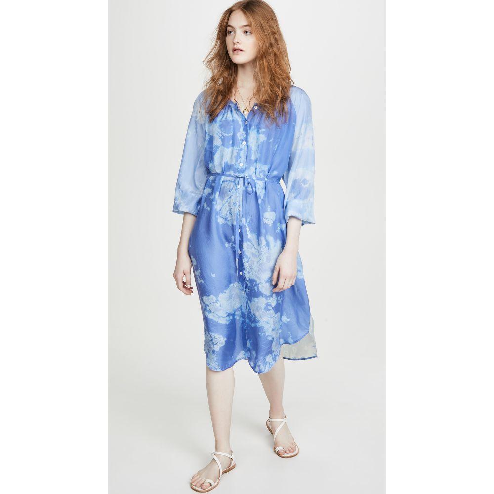 ラクエル アレグラ Raquel Allegra レディース ワンピース ワンピース・ドレス【Poet Combo Dress】Blue Skies