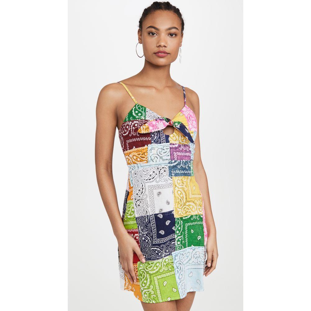 ライレー Riley レディース ワンピース ミニ丈 ワンピース・ドレス【Patchwork Mini Dress】Multi