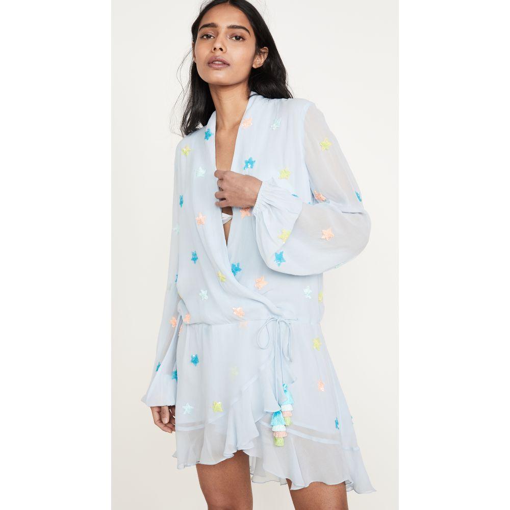 ロココ ROCOCO SAND レディース ワンピース ワンピース・ドレス【Short Dress】Blue