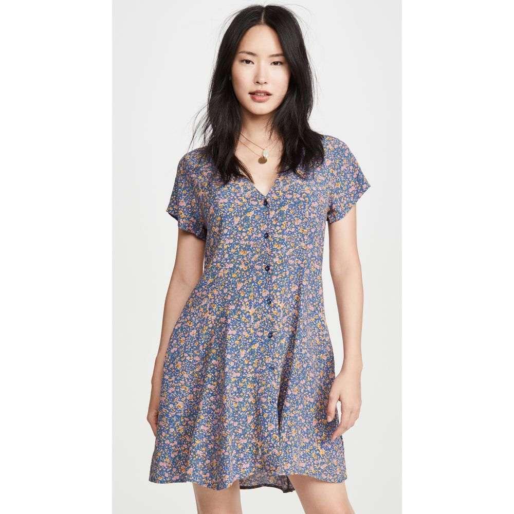ローラズ Rolla's レディース ワンピース ワンピース・ドレス【Milla Coast Floral Dress】Blue