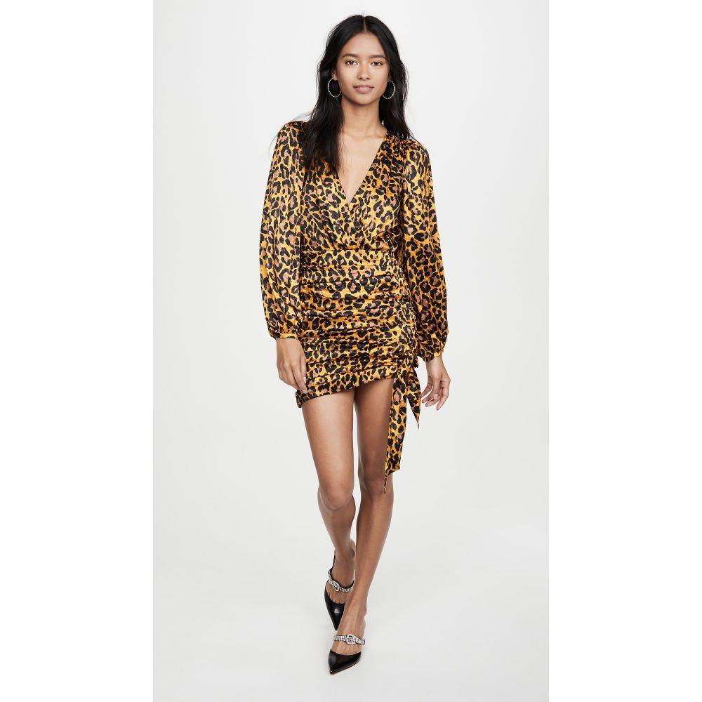 ロニー コボ Ronny Kobo レディース ワンピース ワンピース・ドレス【Giorgia Dress】Leopard Gold Multi