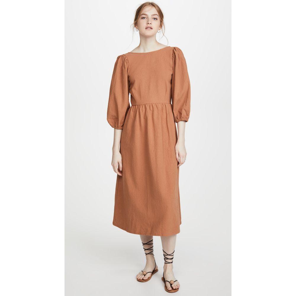 レイチェル パリー Rachel Pally レディース ワンピース ワンピース・ドレス【Linen Canvas Roma Dress】Auburn