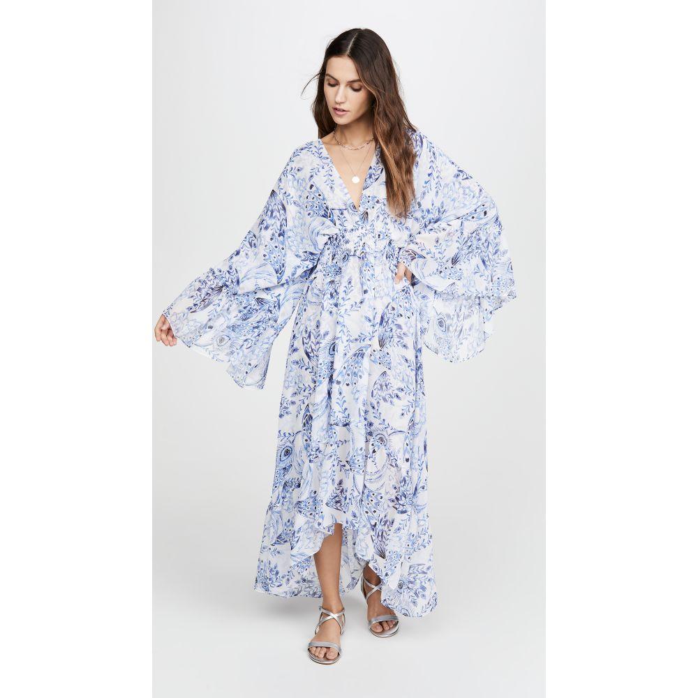 ミサ MISA レディース ワンピース ワンピース・ドレス【Shadi Dress】Peacock
