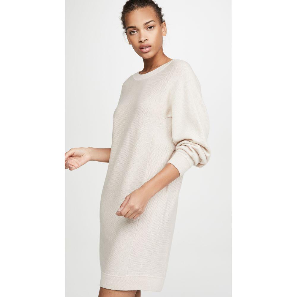 ヴィンス Vince レディース ワンピース ワンピース・ドレス【Dolman Sleeve Dress】Heather Oatmeal