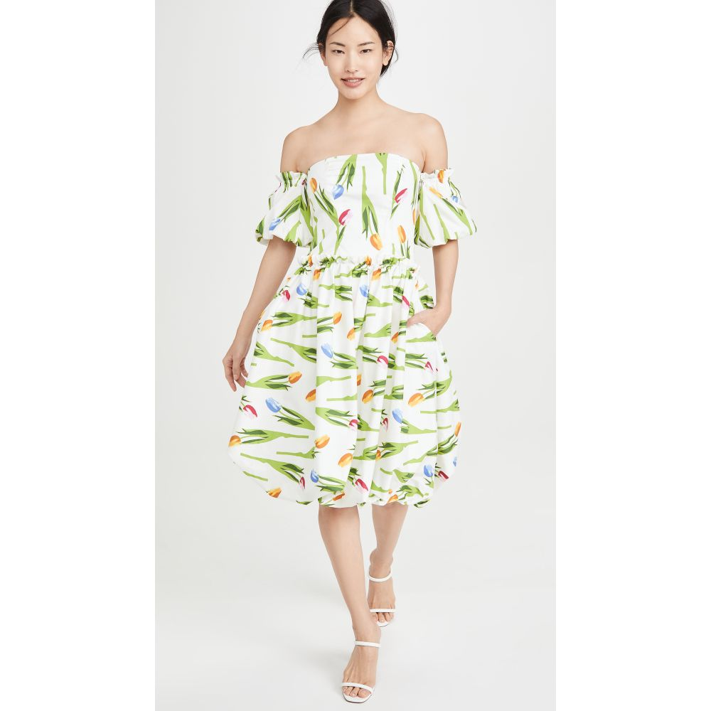 ビバ アビバ Viva Aviva レディース ワンピース バブルドレス ワンピース・ドレス【Hazel Bubble Hem Dress】Falling Tulips