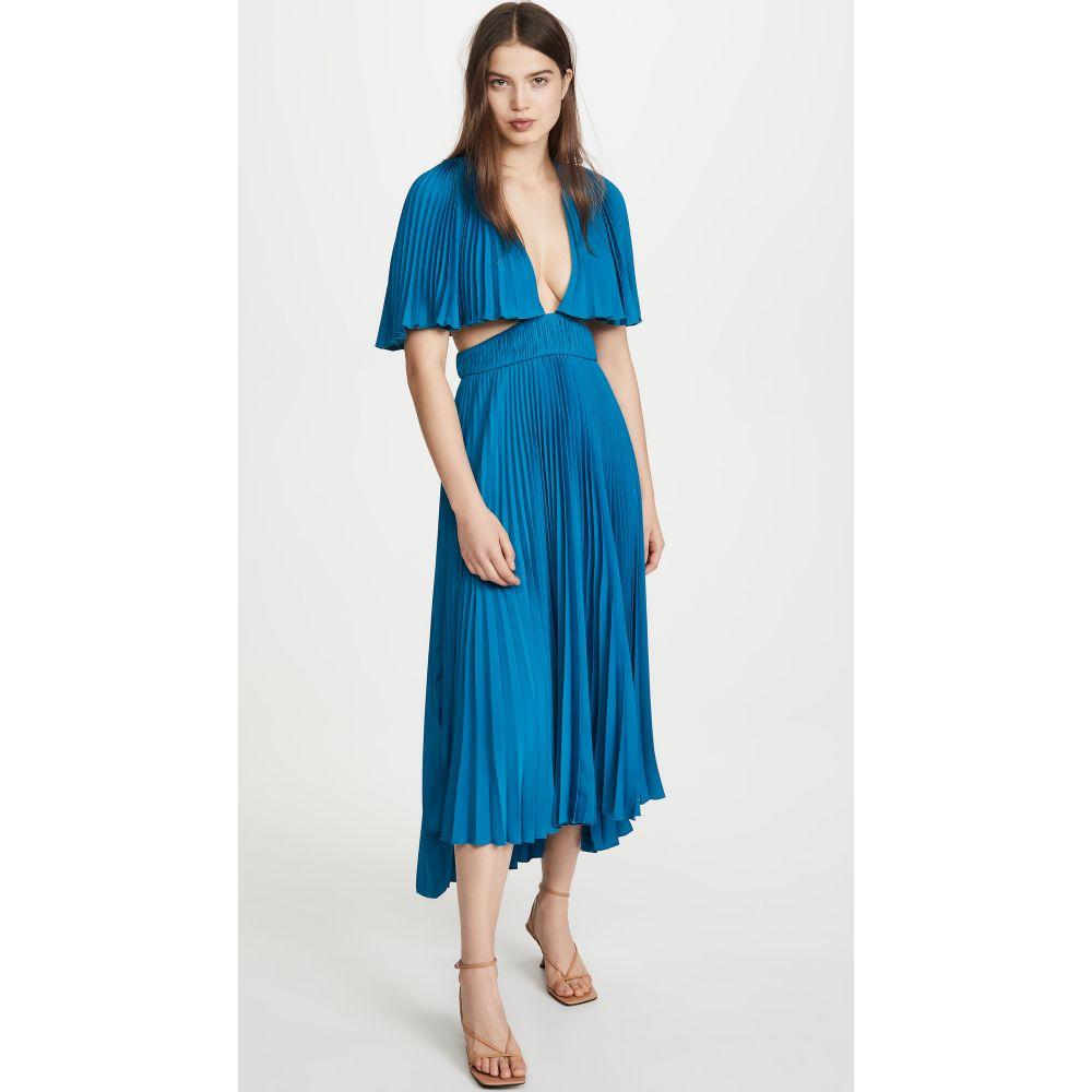 アムール AMUR レディース ワンピース ワンピース・ドレス【Dara Dress】Ocean Blue