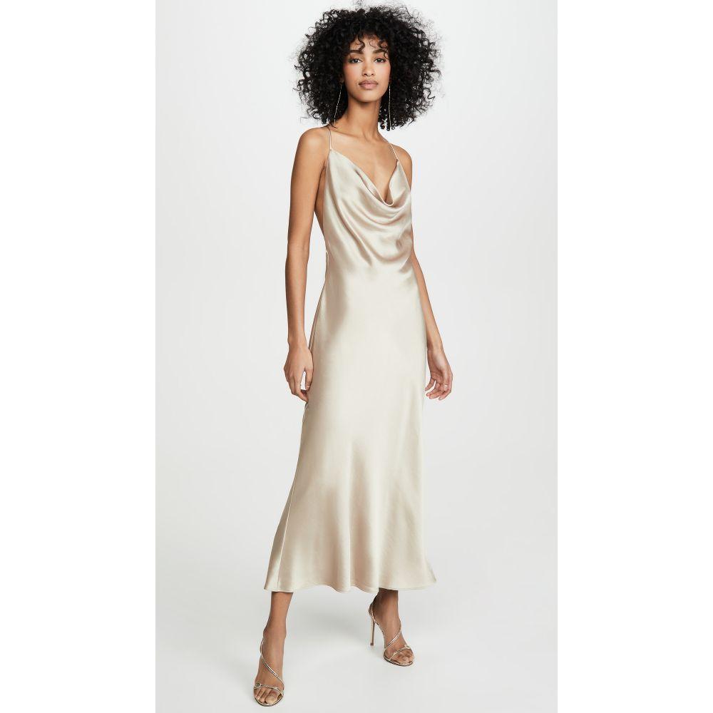 ベック アンド ブリッジ Bec & Bridge レディース ワンピース ミドル丈 ワンピース・ドレス【Pearl Bay Midi Dress】Nude